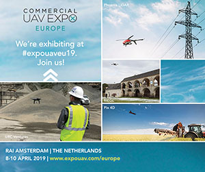 UAV Expo Europe, Amsterdam